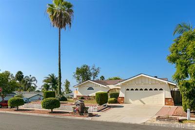 Single Family Home For Sale: 2751 Pauline Way