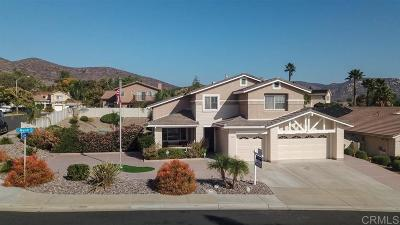Santee Single Family Home For Sale: 9902 Mandi Lane