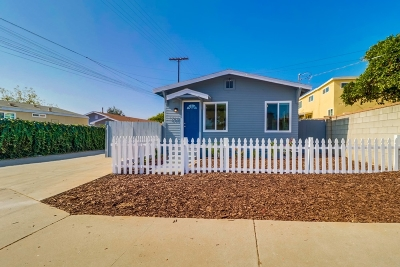 San Diego Single Family Home For Sale: 1910 S 41st St.