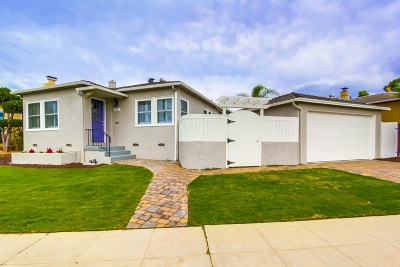 San Diego Single Family Home For Sale: 4635 Norma Dr