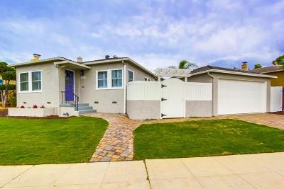 Talmadge, Talmadge/College Area Single Family Home For Sale: 4635 Norma Dr