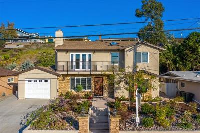 La Mesa Single Family Home For Sale: 6281 Falmouth Dr
