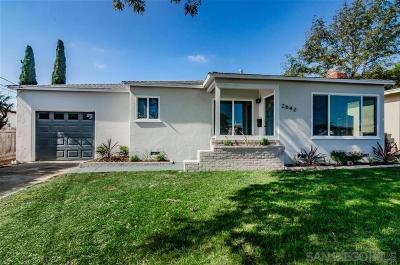 Single Family Home Pending: 2642 Corona St