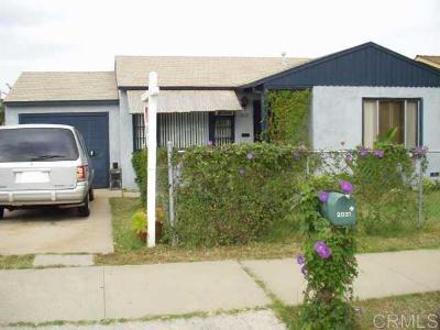 Single Family Home For Sale: 2031 K Ave