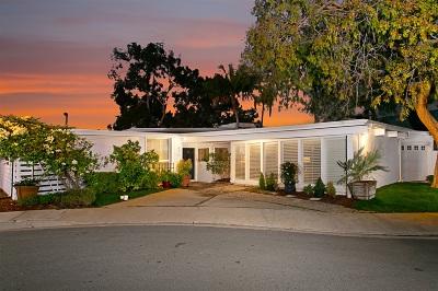 Talmadge, Talmadge/College Area Single Family Home For Sale