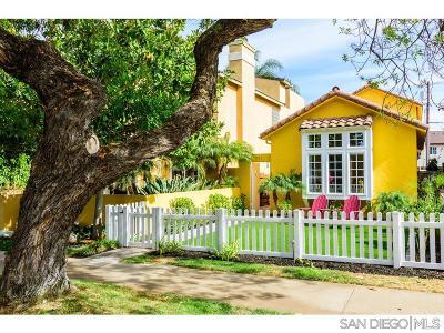 Coronado Single Family Home For Sale: 231 C Ave