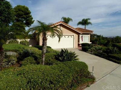Vista Single Family Home For Sale: 1734 Countryside Dr