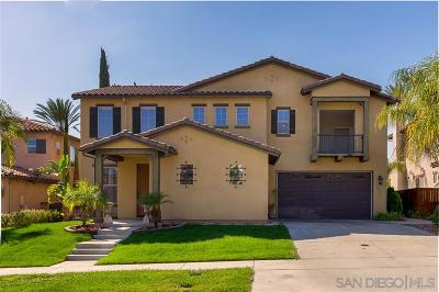 Chula Vista Single Family Home For Sale: 1578 Stargaze Dr