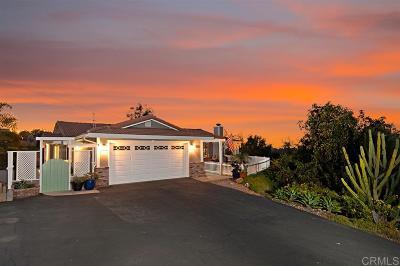 Vista Single Family Home For Sale: 1155 Lolali Ln