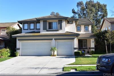 Chula Vista Single Family Home For Sale: 1151 Morgan Hill Dr