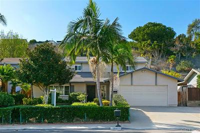 Carlsbad Single Family Home For Sale: 3811 Sierra Morena Ave