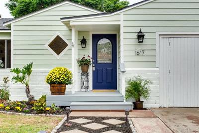 Oceanside Single Family Home For Sale: 1617 Burroughs