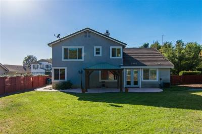 Escondido Single Family Home For Sale: 304 Hidden Trails Rd