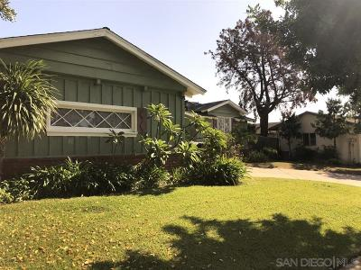 Del Cerro Single Family Home For Sale: 5659 Meredith Ave.