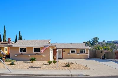 Single Family Home For Sale: 1415 El Prado Ave