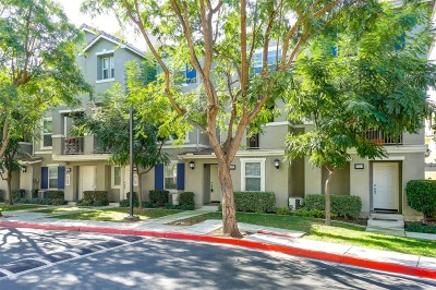Chula Vista Townhouse For Sale: 1587 Hackberry Pl