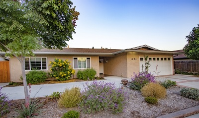 Escondido Single Family Home For Sale: 1724 S Redwood St