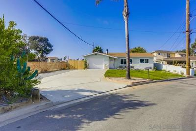 Carlsbad Single Family Home For Sale: 3916 Long Pl.
