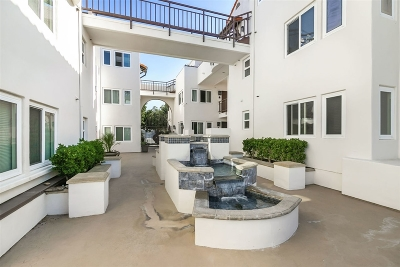 San Diego Attached For Sale: 1150 21st St #Unit 6