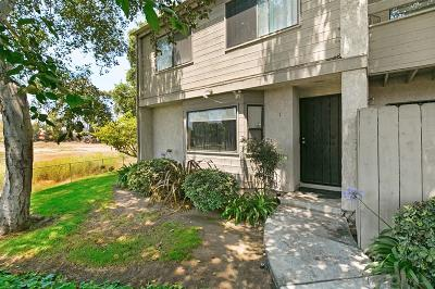 Chula Vista Townhouse For Sale: 1720 Melrose Avenue #1
