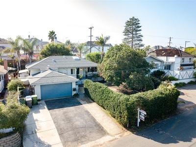 Oceanside Single Family Home For Sale: 2009 S Myers St