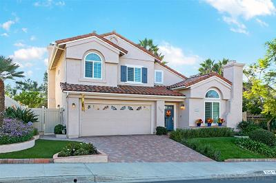 Oceanside Single Family Home For Sale: 3749 Hillview Way
