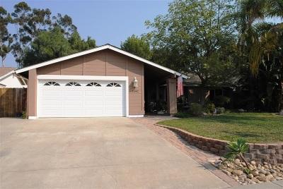 Tierrasanta Single Family Home For Sale: 11082 Promesa Dr