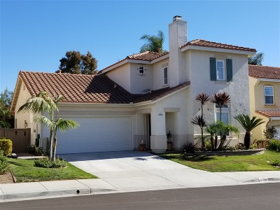 Carlsbad Single Family Home For Sale: 6086 Paseo Carreta