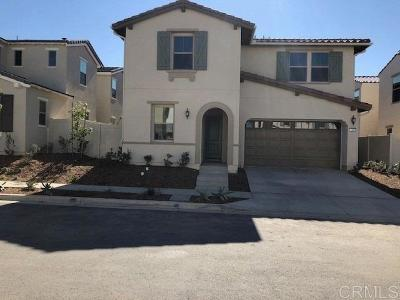 San Marcos Single Family Home For Sale: 243 Treasure Drive