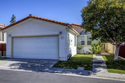 San Diego Single Family Home For Sale: 14955 Avenida Venusto #57