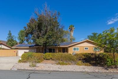 Ramona CA Single Family Home Contingent: $499,900