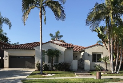 Chula Vista Single Family Home For Sale: 1406 Edgehill Drive