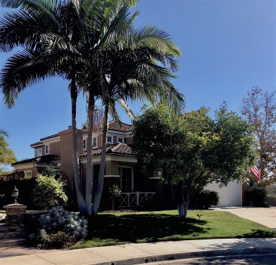 Carlsbad Single Family Home For Sale: 7952 Sitio Baniano