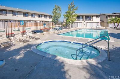 San Diego County Townhouse For Sale: 8535 Paradise Valley Rd #41