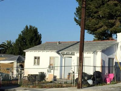 San Diego Multi Family 2-4 For Sale: 744 60th