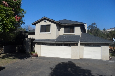 La Mesa Single Family Home For Sale: 4369 Woodland Drive