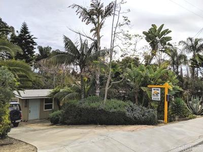 Encinitas Single Family Home For Sale: 745 Clark Ave.