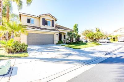 Chula Vista Single Family Home For Sale: 1150 Weber Creek Rd.