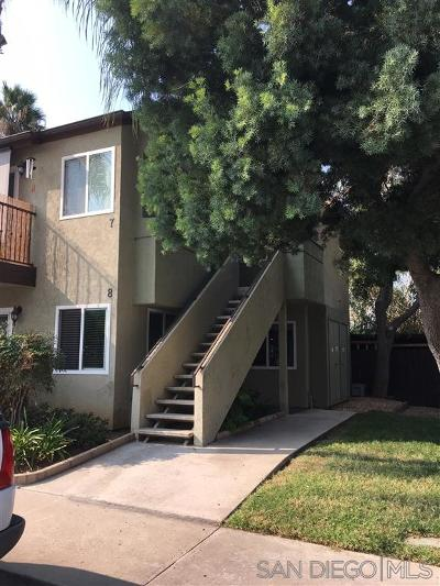 San Diego County Attached For Sale: 1509 E E Washington Ave #8