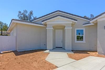 Escondido Single Family Home For Sale: 1989 Bernardo Ave