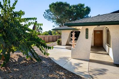 Escondido Single Family Home For Sale: 1345 Leland Way