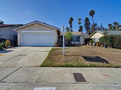 San Diego Single Family Home For Sale: 11340 Dalby Pl