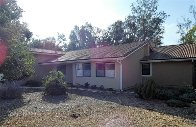 Single Family Home For Sale: 16438 Espola Rd
