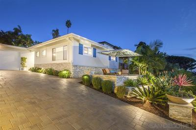 Solana Beach Single Family Home For Sale: 710 S Cedros
