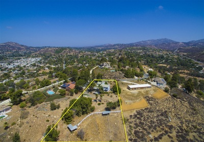 Poway Single Family Home For Sale: 13842 Belvedere Drive