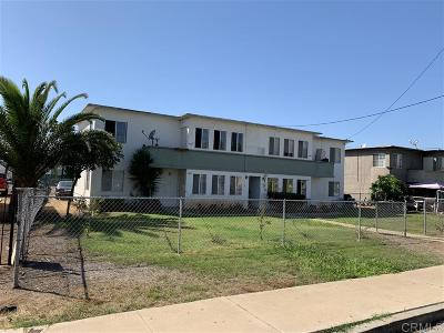 Chula Vista Multi Family 2-4 For Sale: 278 Ash Ave
