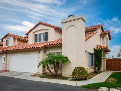 Chula Vista Townhouse For Sale: 1573 Ave Rosa
