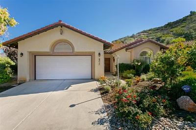 Fallbrook Single Family Home For Sale: 4017 Pala Mesa Oaks Dr