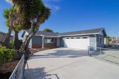 San Diego Single Family Home For Sale: 1456 Paradise Rd