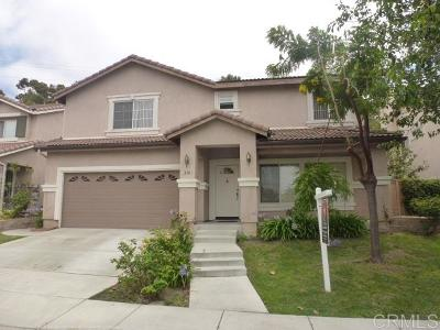 Oceanside Single Family Home For Sale: 318 La Soledad Way